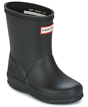 Hunter FIRST CLASSIC girls's Wellington Boots in Black