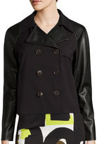 WORTHINGTON Worthington Cropped Trench Jacket - Tall