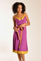 Plenty by Tracy Reese Banded Slip Dress In Magenta