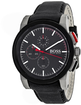 HUGO BOSS Classic 1512979 Men's Nylon and Stainless Steel Chronograph Watch