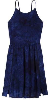 Aqua Girls' Tie-Dyed Skater Dress, Big Kid - 100% Exclusive