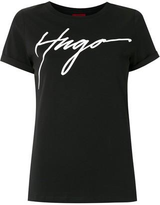 HUGO BOSS logo-print short-sleeve T-shirt