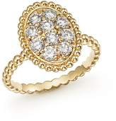 Bloomingdale's Diamond Oval Beaded Ring in 14K Yellow Gold, .80 ct. t.w. - 100% Exclusive