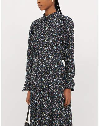 Zadig & Voltaire ZADIG&VOLTAIRE Trent floral-print crepe blouse