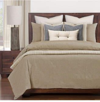 Siscovers Haystack Ticked Stripe Farmhouse 6 Piece Queen Luxury Duvet Set Bedding
