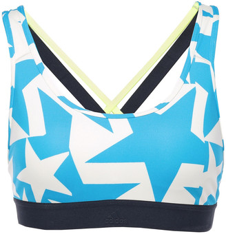 adidas Don't Rest Iteration Cutout Printed Stretch Sports Bra