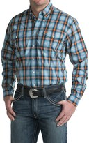 Cinch Woven Plaid Shirt - Long Sleeve (For Men)