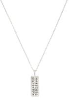 Beaded Bar Pendant Necklace