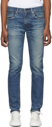 Levi's Levis Made and Crafted Blue 502 Slim Taper Jeans