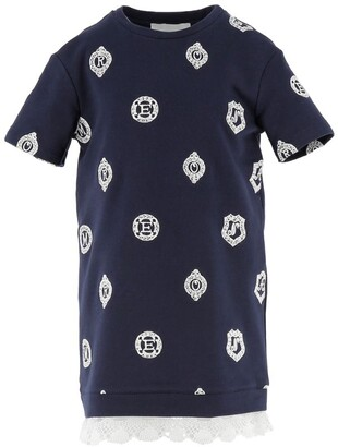 Ermanno Scervino Logo Crest T-Shirt Dress (4-14 Years)