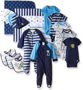 Gerber Boys' 19 Piece Essentials Gift Set