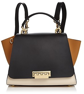 ZAC Zac Posen Eartha Iconic Color Block Convertible Leather Backpack