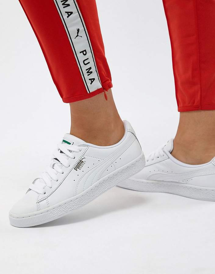 new products be6fb e534b Basket Classic White Sneakers