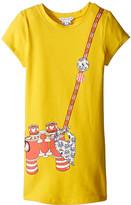 Little Marc Jacobs Short Sleeve Dress with Fancy Illustration (Toddler/Little Kids)