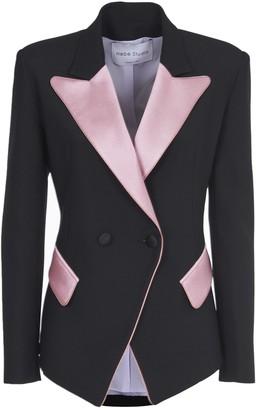 Hebe Studio Black And Pink Blazer