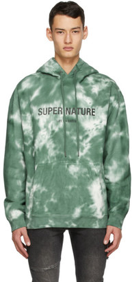 Ksubi Green Super Nature Hoodie