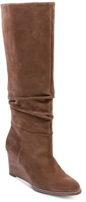 Andre Assous Women's Saffi Wedge Heel Scrunched Boots