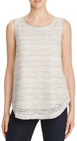 Avec Layered-Look Knitted Tank