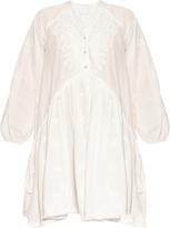 Zimmermann Lotte embroidered cotton dress