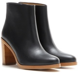 A.P.C. Chic leather ankle boots
