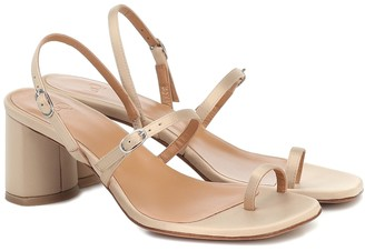 LOQ Alba satin sandals