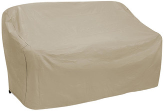 """Protective Covers 87"""" Oversize Three-Seat Sofa Cover - Tan"""
