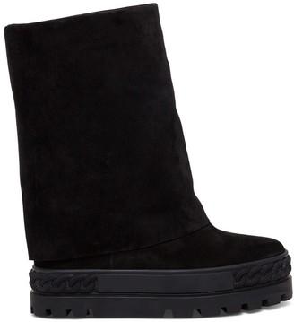 Casadei Cuffed Boots