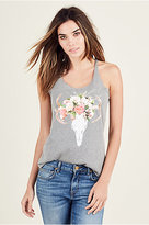 True Religion Antlers Womens Tank