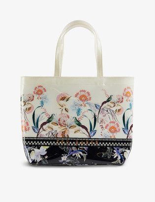 Ted Baker Dexcon Decadence Icon small vinyl tote bag
