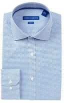 Vince Camuto Pattern Trim Fit Dress Shirt