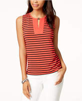 Tommy Hilfiger Sleeveless Striped Top