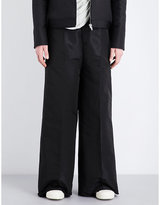 Rick Owens Walrus Wide-leg Shell Trousers