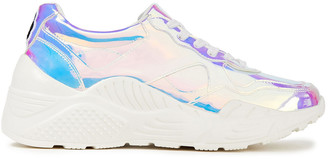 Alice + Olivia Claudine Iridescent Pvc Sneakers