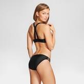 Xhilaration Women's Strappy Flounce Bralette Bikini Top