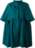 Gianluca Capannolo cropped sleeves coat - women - Polyester - 42