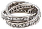 Cartier Trinity de Diamond Ring