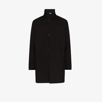 Descente black Sun Shield hard shell coat