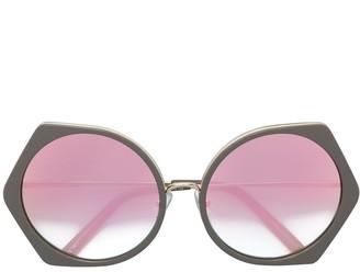 Matthew Williamson Geometric Tinted Sunglasses