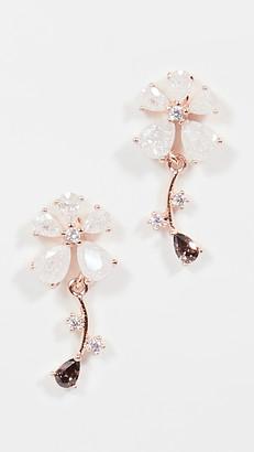 Theia Gabriella Daisy Drop Earrings