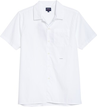 Noah Solid Short Sleeve Button-Up Camp Shirt
