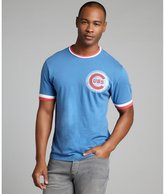 Red Jacket blue and red cotton 'Chicago Cubs' crewneck t-shirt