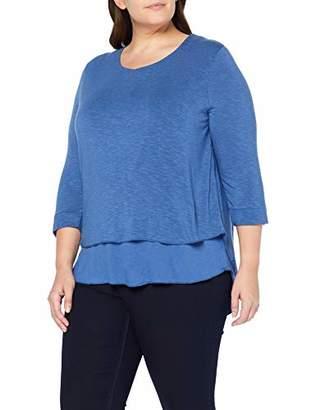 Ulla Popken Women's Pullover Doppellagig, Große Größen Jumper,16 (Size: 42+)