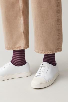 Cos Sheer-Striped Socks