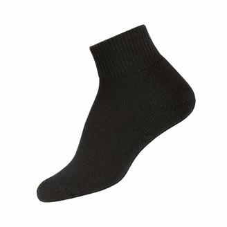 Thorlo Thorlos Women's HPMW Diabetic Thick Padded Low Cut Sock