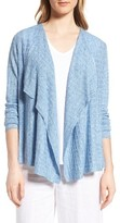 Eileen Fisher Women's Angle Front Linen Cardigan