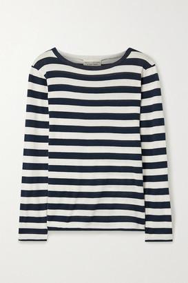 Nili Lotan Striped Cotton-jersey Top