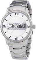 Just Cavalli r7253127502 38mm Silver Steel Bracelet & Case Mineral Women's Watch