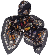 Alexander McQueen Obsession Print Scarf