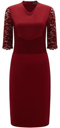 James Lakeland Tailored Lace Dress