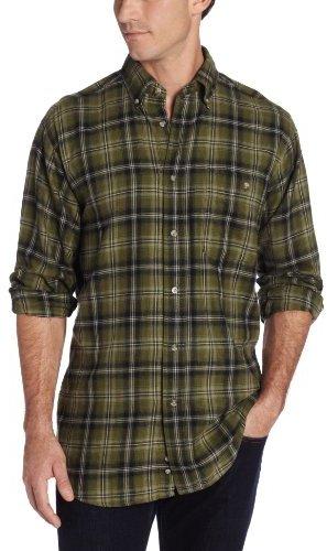 Wrangler Men's Big-Tall Rugged Wear Blue Ridge Flannel